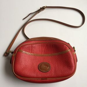 D&B Vintage Oval Crossbody Bag